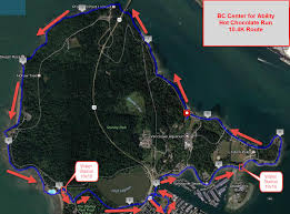 Running Map Route by Try Events Vancouver U0027s Chocolate Run