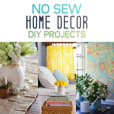 diy projects for home decor no sew home decor diy projects the cottage market