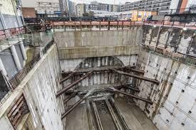 Wsdot Seattle Traffic Flow Map by Bertha Breaks Through Watch The Tunnel Boring Machine U0027s