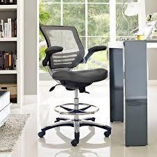 auãÿenleuchten design edge drafting stool in gray review