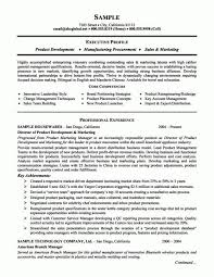 product marketing resume senior product manager resume template