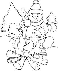 cute winter coloring pages winter animal coloring pages coloring in animals cute baby animal