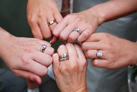 what to do with wedding ring wedding rings one ring for engagement and wedding how are you