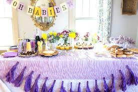 purple baby shower decorations cool purple baby shower decoration purple and silver baby shower