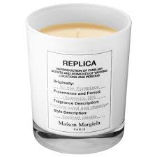 replica u0027 by the fireplace scented candle maison margiela sephora