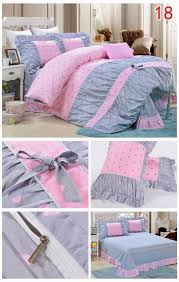 Polka Dot Comforter Queen Yadidi 100 Cotton Classic Girls Princess Polka Dot Bedding Sets