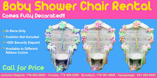 baby shower chair rentals baby shower party supplies decorations costumes new york