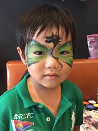 kids face painting at birthday party and events singapore