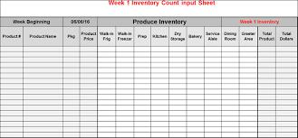 Kitchen Inventory Spreadsheet Restaurant Spreadsheet Workplace Wizards Restaurant Consulting