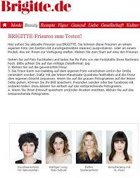 Frisuren Testen by Anniewear Goes Brigitte Anniewear
