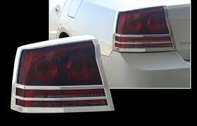 2008 dodge charger lights dodge charger chrome light bezels 2006 2010