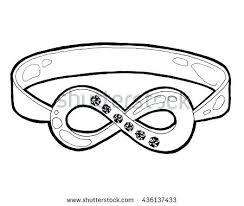 infinity symbol diamond ring heart shape diamond infinity