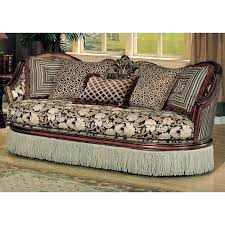Patterned Sofa Bed Santiago Sofa In Floral Paisley Patterned Fabric Dcg Stores