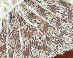 Lace Fabric For Curtains Navy Lace Fabric With 3d Applique Blossom Butterfly Fabric