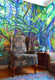 Forest Mural by Residential Murals U2014 Marigold Mural Studios