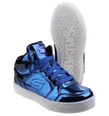 skechers energy lights eliptic royal blue boys footwear treds