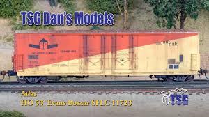 box car ho scale weathered detailed atlas evans box car dan u0027s models youtube
