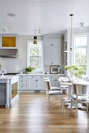 elegant white kitchen floor tile ideas