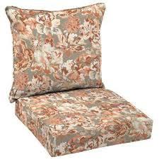 box edge hampton bay floral outdoor chair cushions outdoor