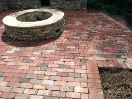 thin brick pavers for patio brick paver patio styles brick pavers