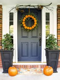Best Color With Orange Accessories Front Door Colors For More Appealing Home Entrance