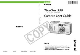 canon printer manuals canon powershot s50 user manual