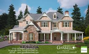 traditional craftsman house plans homestead hall house plan house plans by garrell associates inc