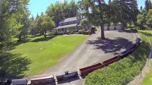 Backyard Trains For Sale by Train Property Video Tour 18055 Seiffert Rd Sherwood Oregon For
