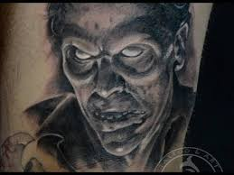 black and gray by tonho evil dead cheyenne