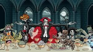 halloween spooky wallpaper halloween dark vampire skull monsters creatures spooky wallpaper