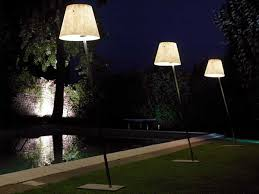 outside garden lights for class and style in the garden outside