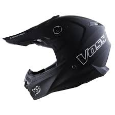 helmets for motocross 801 x1 pro motocross helmet matte black voss motorcycle