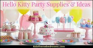 Hello Kitty Party Decorations Decorating Theme Bedrooms Maries Manor Hello Kitty Here