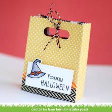 designs by latisha yoast lawn fawn spooktacular u0026 goodie treat bag