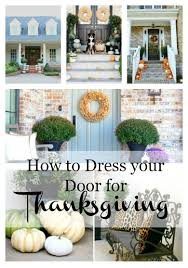 colors for thanksgiving beautiful tips for dressing your front door for thanksgiving