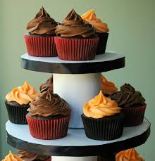 spice halloween cupcakes