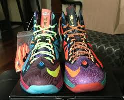 nike lebron x what the mvp available on ebay sneakernews
