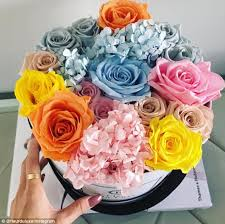incredible roses that last a year after being soaked in special