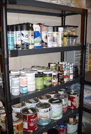 a bit of basement organization hometalk