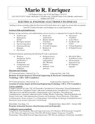 electronic technician resume examples samples automotive