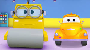 tom the tow truck u0027s paint shop steve the steamroller is a