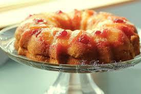 pineapple banana upside down bundt cake by the kitchen whisperer