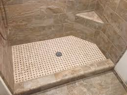Tile Shower Ideas by Tile Shower Bench Ideas With Shower Stall With Porcelian Tile Sit