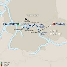 Map Of Germany And Italy by German River Cruises Avalon Waterways