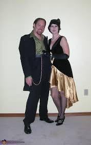 Gangster Couple Halloween Costumes 1920 U0027s Flapper Gangster Halloween Costume Ideas Couples