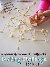 House Design Games To Play by Learn With Play At Home Marshmallow Building And Plays