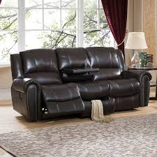 Leather Reclining Sofas And Loveseats by Leather Recliner Sofa Roselawnlutheran