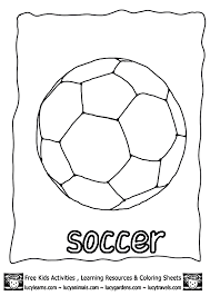 coloring pages soccer ball coloring home