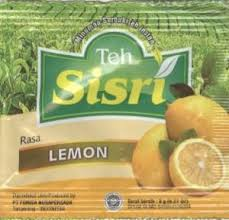Teh Sisri tea bag rasa lemon teh sisri indonesia col tb id 0067