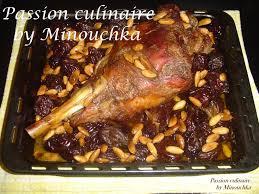 cuisiner un gigot d agneau au four tajine d agneau aux pruneaux et aux amandes culinaire by